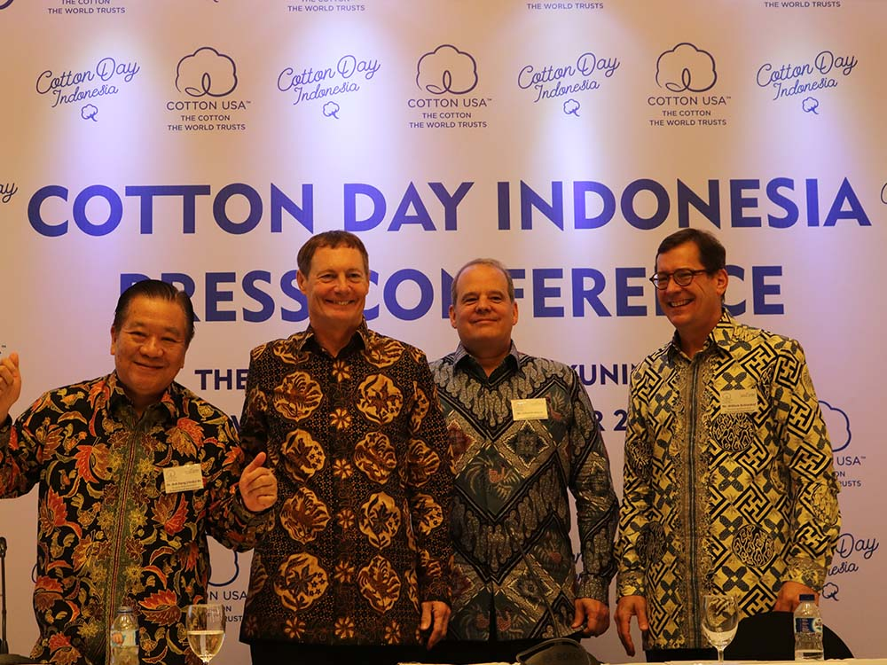 Cotton Council International (CCI) yang Menjalin Kerjasama Dagang dengan Indonesia